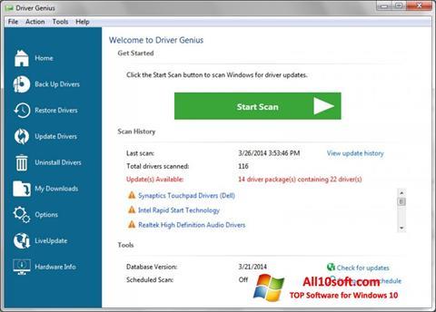Ekraanipilt Driver Genius Professional Windows 10