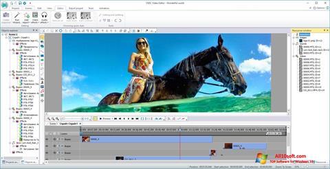 Ekraanipilt VSDC Free Video Editor Windows 10