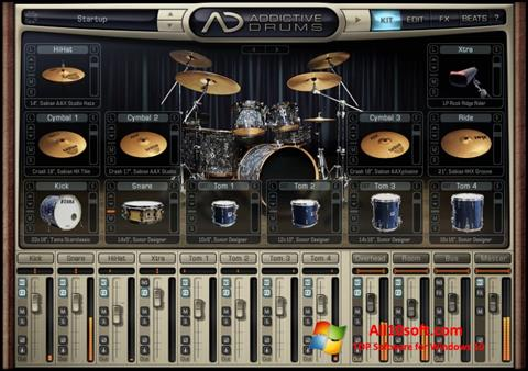 Ekraanipilt Addictive Drums Windows 10