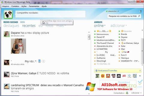 Ekraanipilt Windows Live Messenger Windows 10