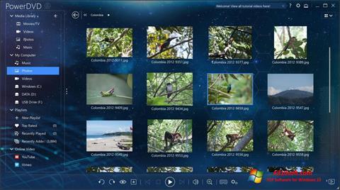 Ekraanipilt PowerDVD Windows 10