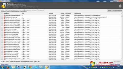 Ekraanipilt Recuva Windows 10