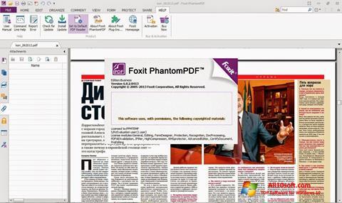 Ekraanipilt Foxit Phantom Windows 10