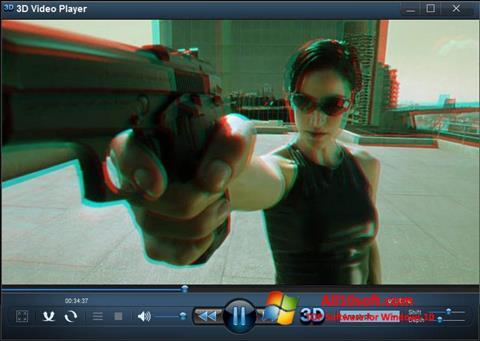 Ekraanipilt 3D Video Player Windows 10
