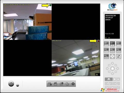 Ekraanipilt D-ViewCam Windows 10