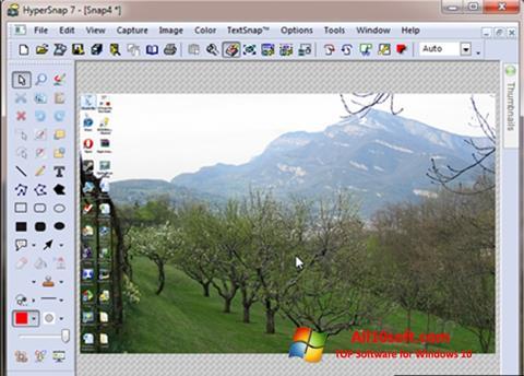 Ekraanipilt HyperSnap Windows 10
