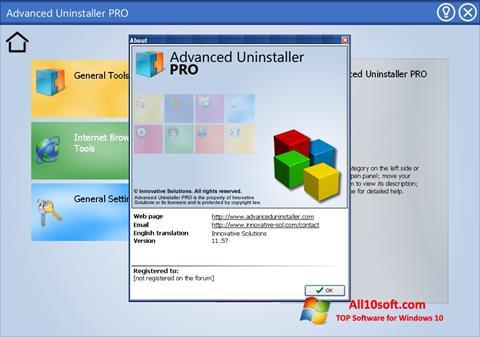 Ekraanipilt Advanced Uninstaller PRO Windows 10