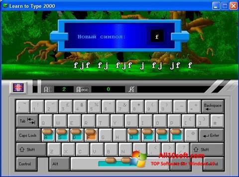 Ekraanipilt BabyType Windows 10