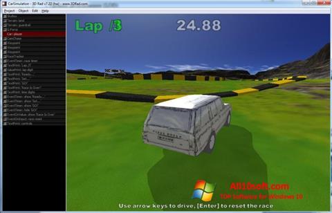 Ekraanipilt 3D Rad Windows 10