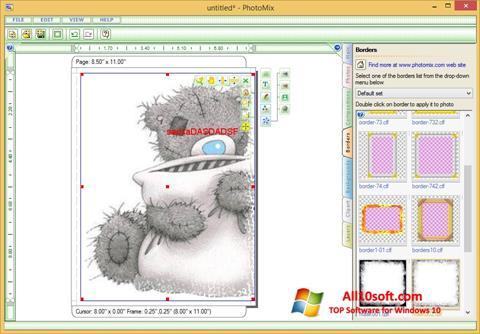 Ekraanipilt PhotoMix Collage Windows 10