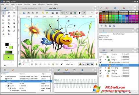 Ekraanipilt Synfig Studio Windows 10
