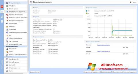 Ekraanipilt Kerio Control Windows 10