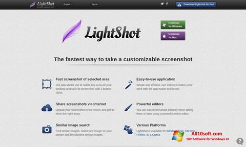 Ekraanipilt LightShot Windows 10