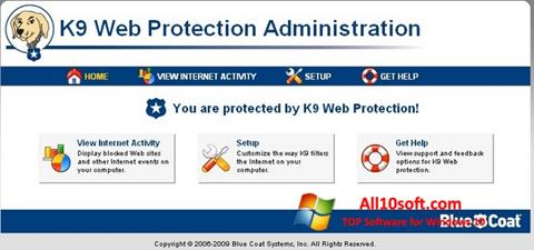 Ekraanipilt K9 Web Protection Windows 10