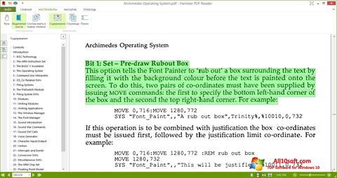 Ekraanipilt Hamster PDF Reader Windows 10