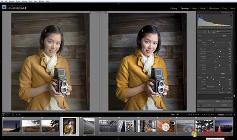 Ekraanipilt Adobe Photoshop Lightroom Windows 10