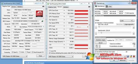 Ekraanipilt ATI Tray Tools Windows 10