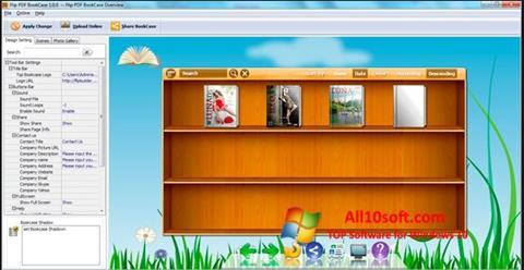 Ekraanipilt Bookshelf Windows 10