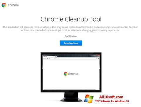 Ekraanipilt Chrome Cleanup Tool Windows 10