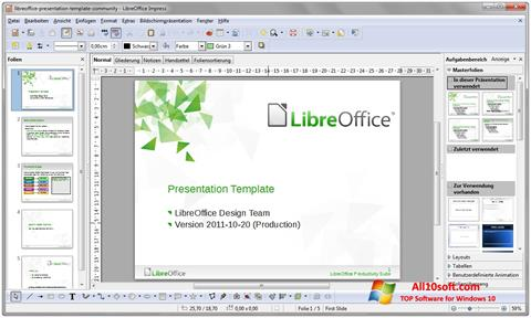 Ekraanipilt LibreOffice Windows 10