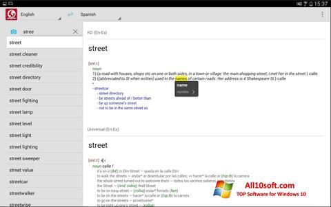 Ekraanipilt ABBYY Lingvo Windows 10