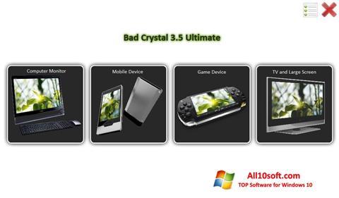 Ekraanipilt Bad Crystal Windows 10
