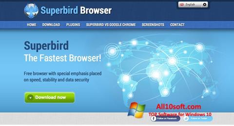 Ekraanipilt Superbird Windows 10