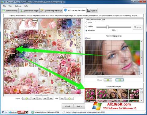 Ekraanipilt Photo Collage Maker Windows 10