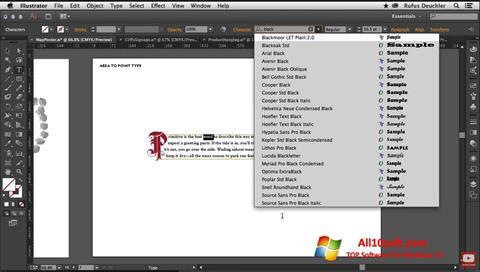 Ekraanipilt Adobe Illustrator Windows 10