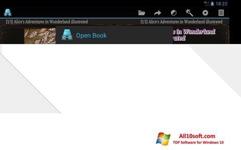 Ekraanipilt AlReader Windows 10