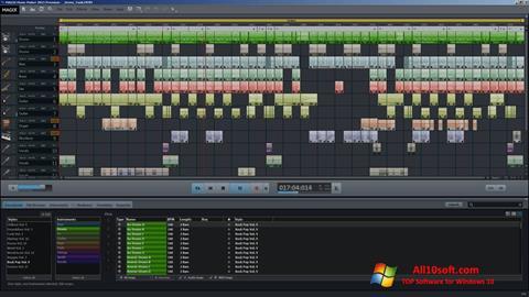 Ekraanipilt MAGIX Music Maker Windows 10
