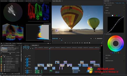 Ekraanipilt Adobe Premiere Pro CC Windows 10