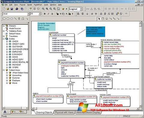 Ekraanipilt ERWin Windows 10