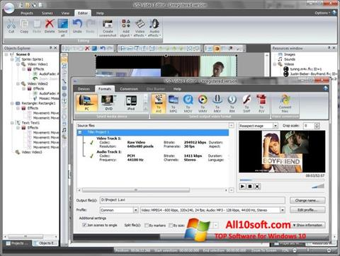 Ekraanipilt Free Video Editor Windows 10