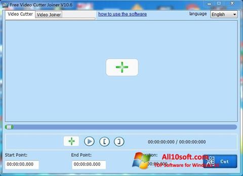 Ekraanipilt Free Video Cutter Windows 10