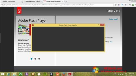 Ekraanipilt Adobe Flash Player Windows 10
